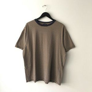 Vintage GAP Ringer Tee Shirt Striped Retro Style